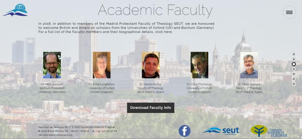ISST Web page - Academic faculty