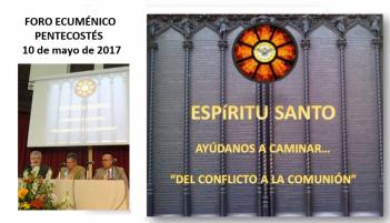 Crónica del X Encuentro de Oración Ecuménica de Pentecostés'
